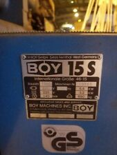 Nice Clean Boy Model 15s Plastic Injection Molding Machine Highest Quality
