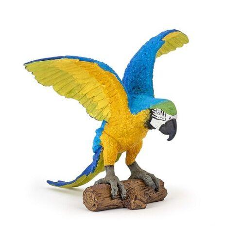Papo 50235 ara blu cm 7 animali selvatici 2018 novità