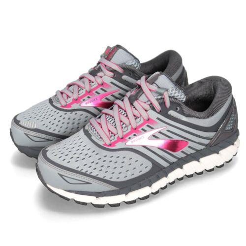 Brooks Ariel 18 Women's Grey//Grey//Pink multiple sizes New In Box
