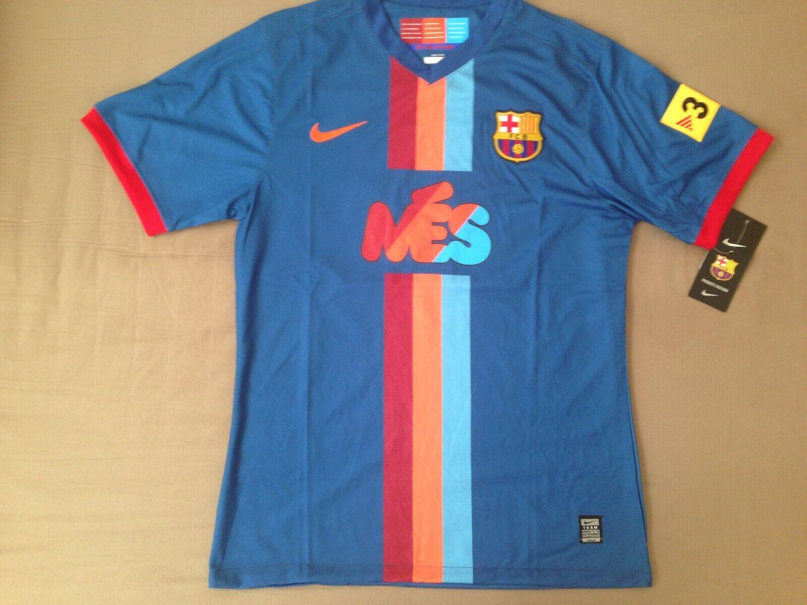 Barcelona Leo Messi 2009 jersey gamper cup rare retro shirt