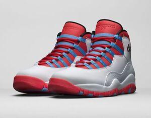 the best attitude eeef9 7342e Image is loading 2016-Nike-Air-Jordan-10-X-Retro-Chicago-