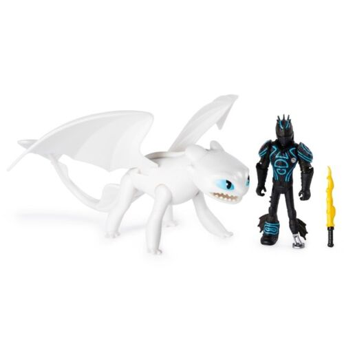 Lightfury /& Hiccup Action Figures Toy How to Train Your Dragon 3 Hidden World