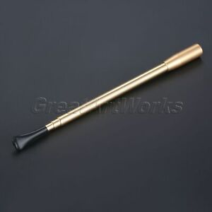 Aluminum-Telescopic-Lady-Cigarette-Holder-Filter-Tobacco-Herb-Smoking-Tool-Gold
