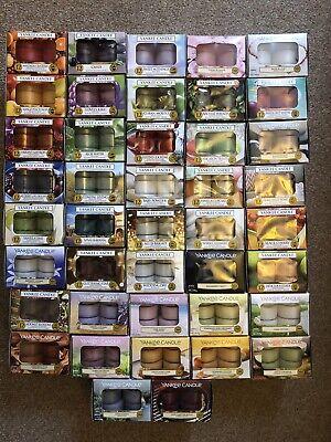 Yankee Candle Assortiment de 3 5 10 Tea Lights divers parfums Random Select