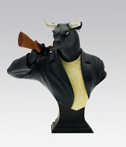 Blacksad Buste Black Bull Figurine Collection Limited Ed. Collectible Sammlung