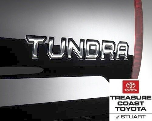 NEW OEM TOYOTA TUNDRA 2014-2019 /& UP CHROME TAILGATE LOGO INSERT