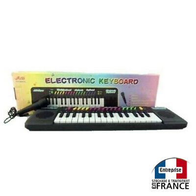 small piano electric keyboard for kids with micro for karaoke cheap price 3700606487577 ebay. Black Bedroom Furniture Sets. Home Design Ideas