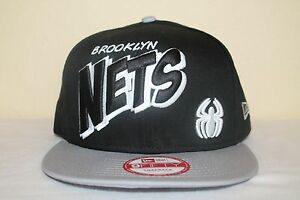 New Era Brooklyn Nets Spiderman or Marvin the Martian Snapback ... 45212db38f