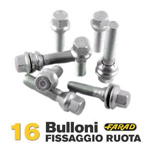 Stil Bull Bulloni Antifurto per Auto Farad Citroen C1 C1 Airscape Ruote in Acciaio