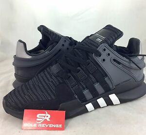 the best attitude 2b9f6 a2f9b Details about NEW Men's adidas Originals Eqt Support ADV Black White Gray  BB1297 x1