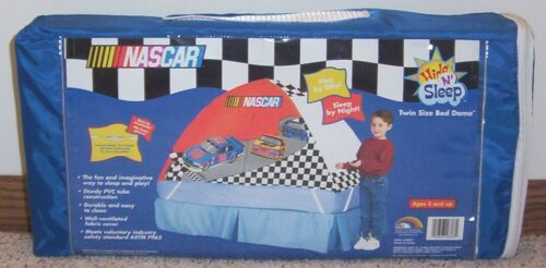 Kids NASCAR Twin Size BED DOME//TENT Hide /'n Sleep NEW