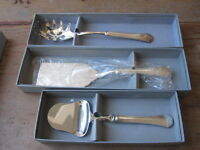 Towle Symphony Silverplate Pasta Server, Lasagna Server, And Cheese Plane