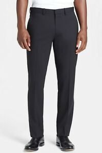 Nwt Pants Tailor Size New Theory Black 40 Slim Fit 180 Details Retail Marlo About
