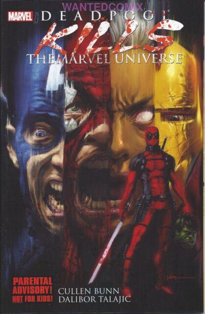 DEADPOOL KILLS THE MARVEL UNIVERSE 1 2 3 4 TPB FREE SHIPPING X-MEN WADE WILSON