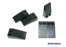 LEGO Nr 4185583 / 4x2 Tegole nero / 6 Pezzi