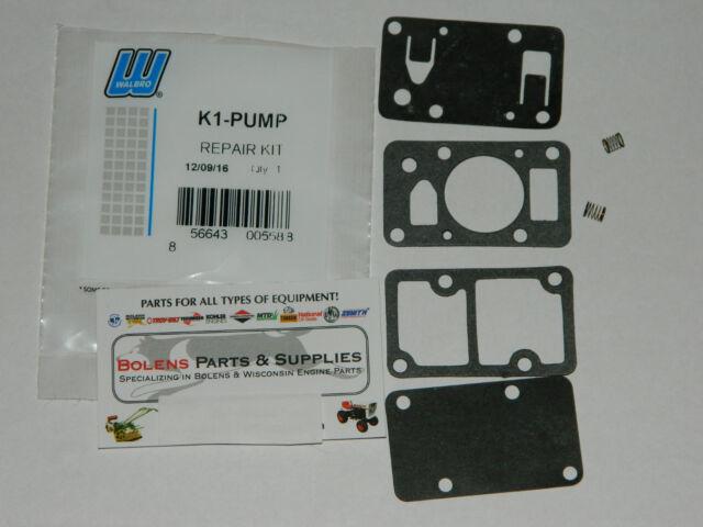 Genuine Walbro Autopulse fuel pump kit 33010 Sears,Bolens,Tecumseh ect   K1-PUMP