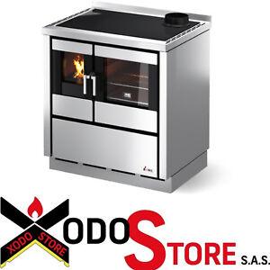 Küche Holzofen - Küche Wirtschaft CADEL Modell KOOK 80 - 7,5 kW ...