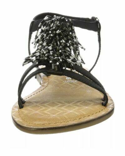 Tamaris Womens 28158 T bar Sandals Black 6 UK 39 EU