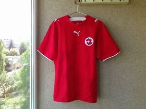 d330ff623f Switzerland Home football shirt 2006 2007 2008 Jersey Soccer Puma L ...