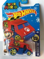 2016 Hot Wheels Super Mario Cool-one #4/5 Target Excl Snowflake HW Screen Time