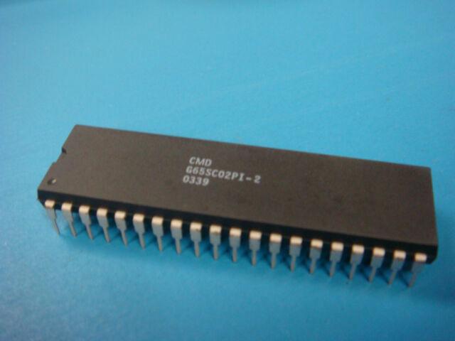 GTE G65SC02PI-1 CMOS 8bit microprocessor