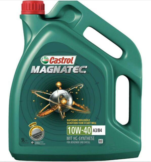 5 Liter CASTROL Magnatec 10W40 A3/B4 MB 226.5 VW 501.01/505.00 Motoröl Motorenöl