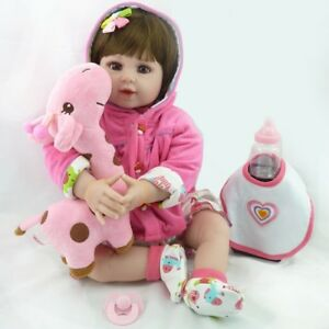 20-039-039-FULL-VINYL-SILICONE-REBORN-BABY-DOLLS-HANDMADE-GIRL-GIFT-NEWBORN-DOLL-TOYS