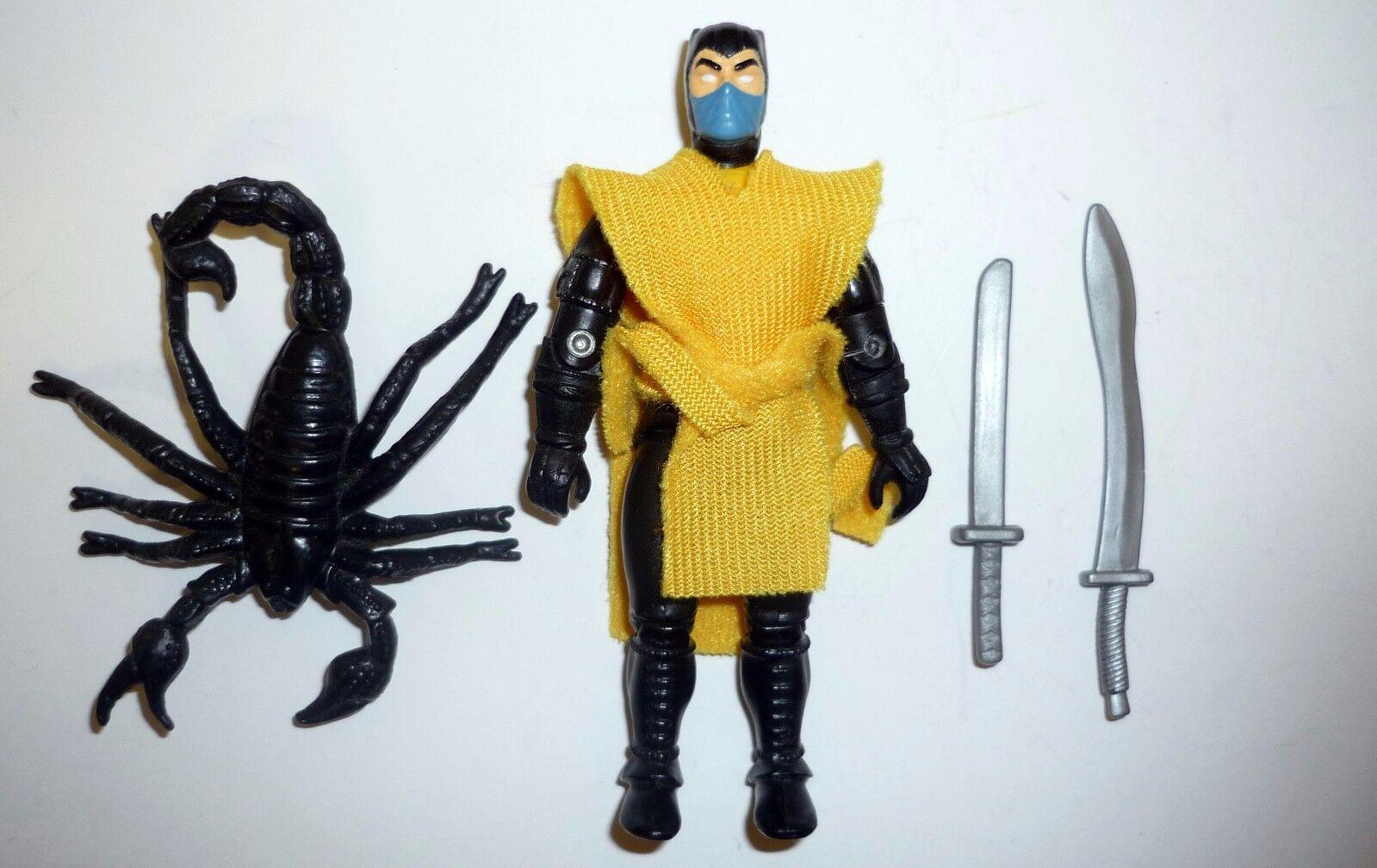 Mortal Kombat Scorpione Vintage Gi Joe Action Figure Completo C9 1994
