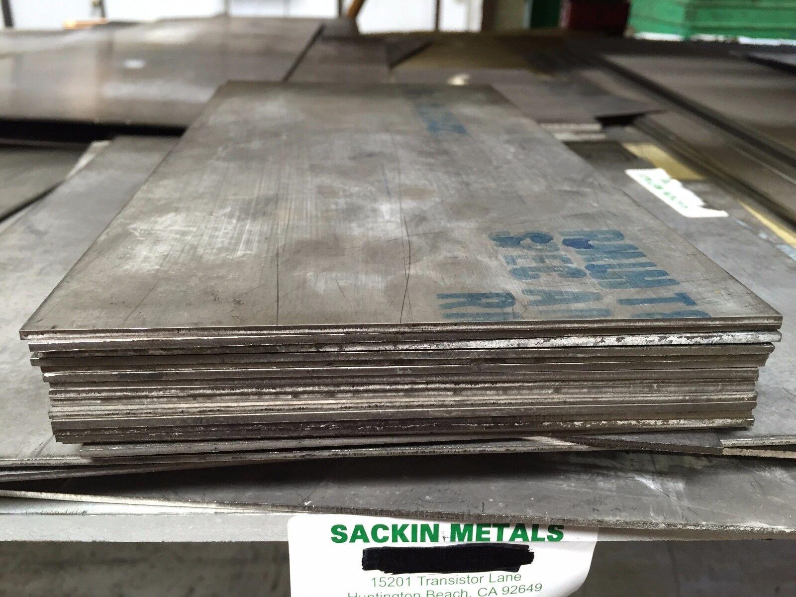 "Titanium Plate 6AL4V 10/"" x 12/"" X .287/"""