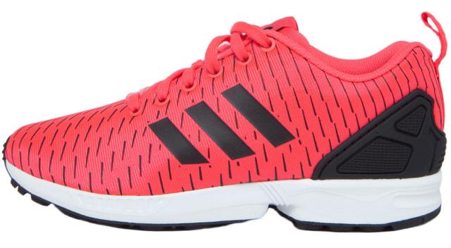 4aa37798f9 Adidas ZX Flux Scarpe da ginnastica Originals Shock Rosso Nero ...