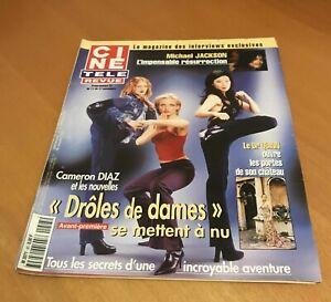 CINE-REVUE-45-2000-CAMERON-DIAZ-JANE-SEYMOUR-GEORGES-POUJOULY-AZNAVOUR