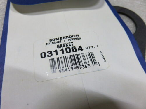 T36 Evinrude Johnson OMC 0311064 Fuel Pump Gasket OEM New Factory Boat Parts