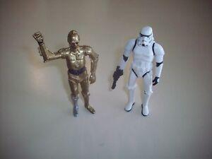 Star-Wars-Lucas-Films-Nonposeable-Action-Figures-Clonetrooper-amp-C-3PO