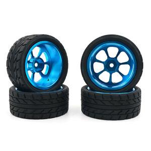 4x-For-Wltoys-1-18-A959-B-A979-B-A959-A969-Alloy-Rims-and-Tires-RC-Car-Wheels