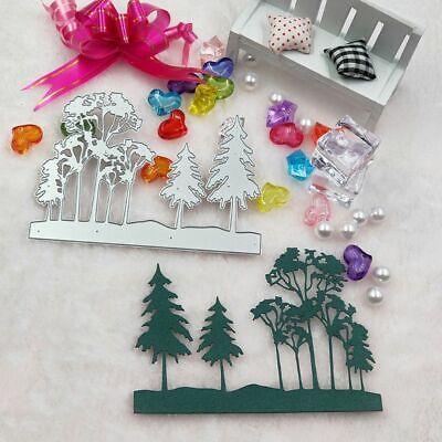 Forest Metal Cutting Dies Stencil DIY Scrapbooking Album Stamp Paper Card Carfts