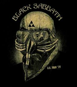 BLACK-SABBATH-cd-cvr-Never-Say-Die-US-TOUR-1978-Official-SHIRT-LRG-new