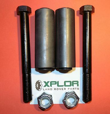 """LAND ROVER SERIES 88"""" FRONT CHASSIS SPRING BUSHES BOLTS & NUTS SET 569746"""