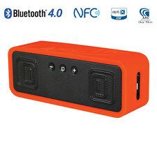 ARCTIC S113 BT Orange - Tragbarer Bluetooth Lautsprecher mit Mikrofon  - NFC