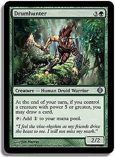 Drumhunter FOIL Shards of Alara PLD Green Uncommon MAGIC MTG CARD ABUGames
