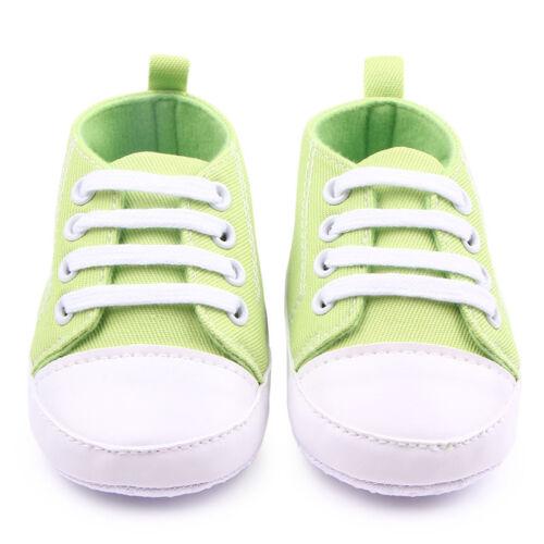 Infant Toddler Baskets Bébé Garçons Filles soft sole Crib Chaussures nouveau-né à 18 mois