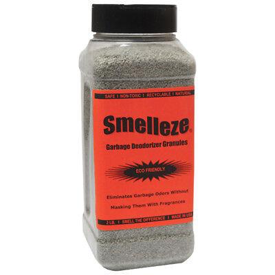 SMELLEZE Eco Moth Ball Odor Eliminator Deodorizer:2 lb Powder Rid Mothball Smell