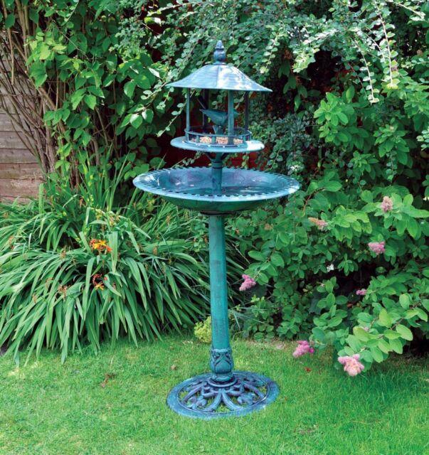 Kingfisher grande ornamental independiente Jardín Baño Pájaro ...