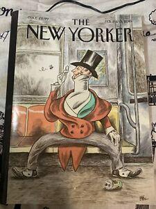 The New Yorker Magazine February 8 & 15 2016 - Anniversary Issue - Eustace