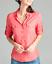 NEW-Plus-Size-Cotton-Button-Front-Shirt-Blouse-3-4-Sleeve-L-XL-1X-2X-3X thumbnail 6