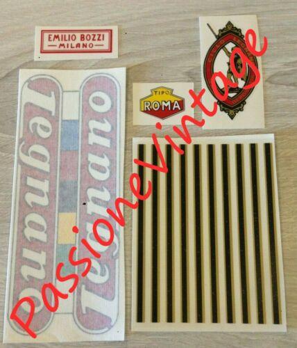 LEGNANO Tipo ROMA  2 1946-47 kit decalcomanie//adesivi//stickers