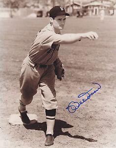 BOBBY DOERR HOF  Boston Red Sox  Signed 8x10 Black & White photo