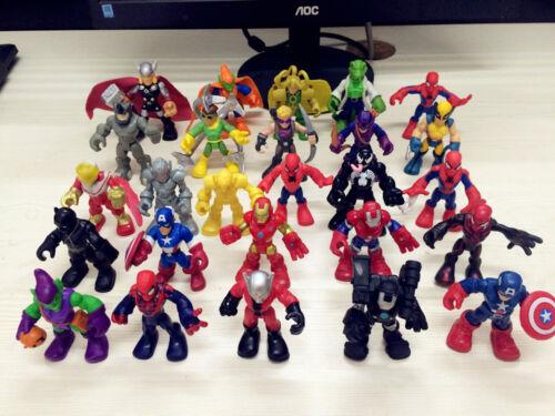 PlaySkool Heroes 2.5/'/' Marvel Super Hero Squad Adventures Action Figure Kid Toys