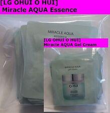 OHUI Miracle AQUA Essence10 pcs + Gel Cream 10pcs, total 20pcs,NEW + Gift