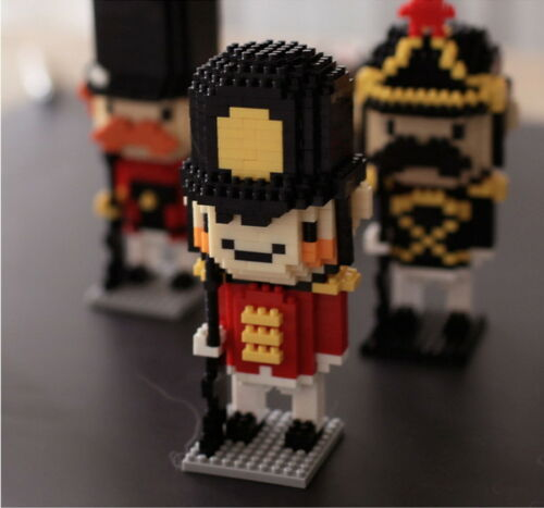 Best Gift British Royal Guard- NUTCRACKER- CHAKRA Mini Blocks Fun Toys DIY