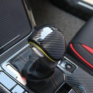 Carbon-Optik-Schaltknauf-Blende-Abdeckung-fuer-Kia-Ceed-CD-GT-GT-LINE-Proceed-GT